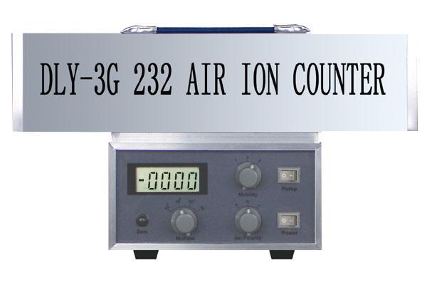 空气离子测量仪DLY-3G(232) 测量各种正负离子,国家发明专